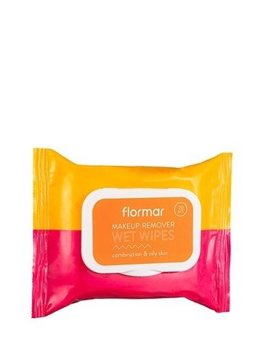 Flormar Flormar Wet Wipes Karma ve Yağlı  Ciltler için Temizleme Mendili  002 Renksiz